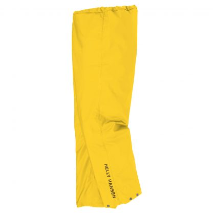 Helly Hansen 70429 Mandel PVC-coated Rain Pants Yellow