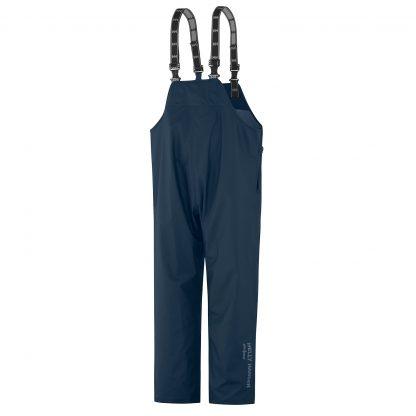 70529 Helly Hansen Workwear Mandal Fishermans PVC Rain Bib Navy Blue