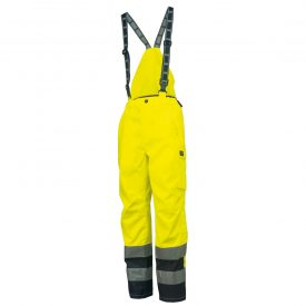 Helly Hansen Workwear 71475 Mens Potsdam High Visibility Bib Pant 369 EN471 YELLO