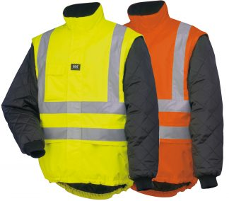 Helly Hansen 73374 Potsdam High Visibility Jacket Liner, Available in High Visibility Yellow and Orange
