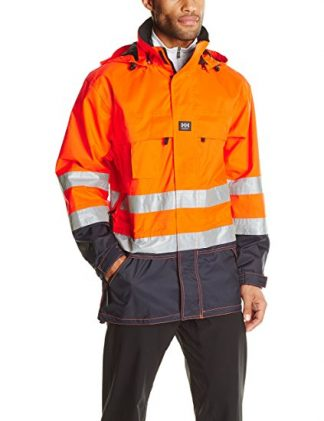 71374 265 EN471 ORANG Helly Hansen Workwear Men's Potsdam High Visibility Jacket