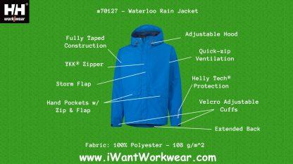 70127 Helly Hansen Waterloo Rain Jacket