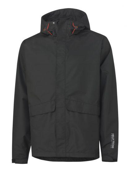 Helly Hansen 70127 Waterloo Rain Jacket, Black