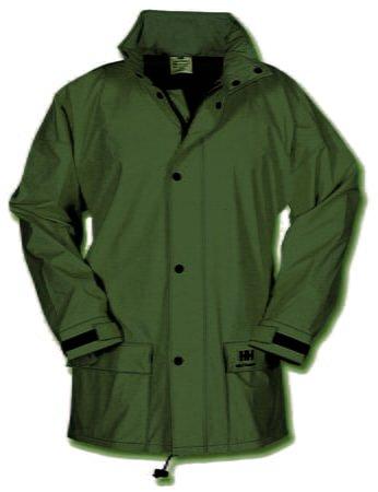 Helly Hansen Workwear 70148 Impertech™ Deluxe Rain Jacket, Green Brown
