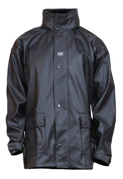 Helly Hansen Workwear 70148 Impertech™ Deluxe Rain Jacket, Black