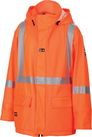 70257 Helly Hansen Workwear Wabush High Visibility Flame Retardant Jacket w/ 3M™ Scotchlite™, CSA Compliant, Front