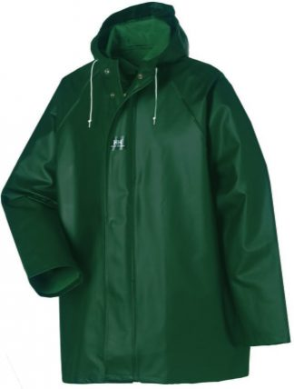 Helly Hansen 70300 Highliner PVC Rain Jacket, Army Green