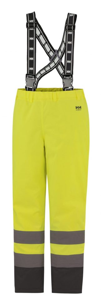 70445 Helly Hansen Workwear Alta High Visiblity Insulated Rain Pant, Yellow