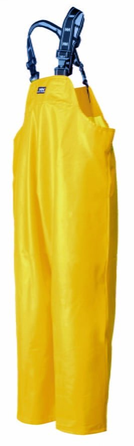 70500 Helly Hansen Waterproof PVC Rain Bib, Yellow