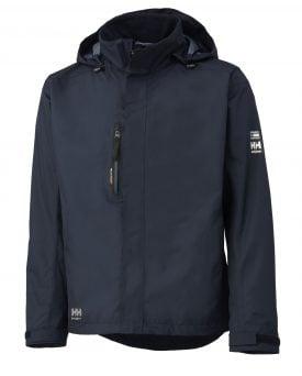 Helly Hansen 71043 Haag Insulated Rain Jacket, Helly Tech® Protection, Navy Blue