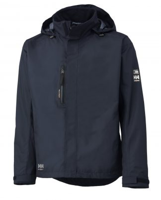 Helly Hansen 71043 Haag Insulated Rain Jacket, Helly Tech® Protection, Navy Blue
