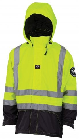 Helly Hansen 71274 Men's Potsdam 3-in-1 Class 2 High Visibility Insulated Jacket, Parka Front