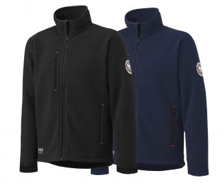 Helly Hansen 72112 Langley Polartec Fleece Jacket, available in navy and black