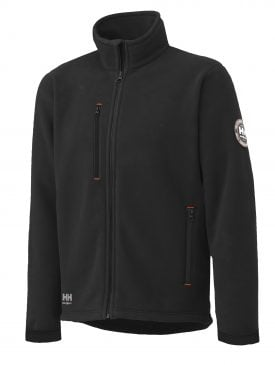 72112 Helly Hansen Workwear Men's Langley Polartec® Fleece Jacket, Black