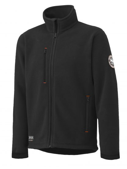 72112 Helly Hansen Workwear Men's Langley Polartec® Fleece Jacket, Black