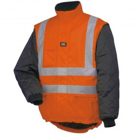 73374 269 EN471 ORANG Helly Hansen Workwear Men's Potsdam High Visibility Liner