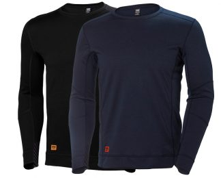HH LIFA MAX Crewneck - Helly Hansen 75108, available in both black and navy