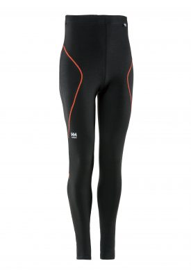 75443 Helly Hansen Workwear Men's Lifa Max Thermal Underwear /w Lifa® Moisture Wicking Technology, Black