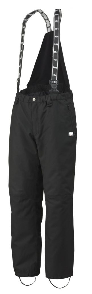 76400 Helly Hansen Workwear Men's Berg Insulated Thermal Bib Pant, Built-in Kneepad Pockets, Boot Zippers