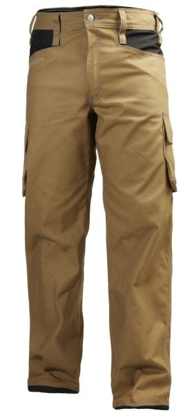 76485 Helly Hansen Workwear Men's Chelsea Service Work Pants, Timber Front