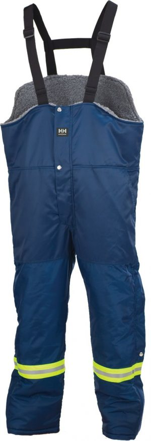 76512 Helly Hansen Workwear Men's Thompson Thermal Lined Bib Pant w/ 3M™ Scotchlite™ Reflective