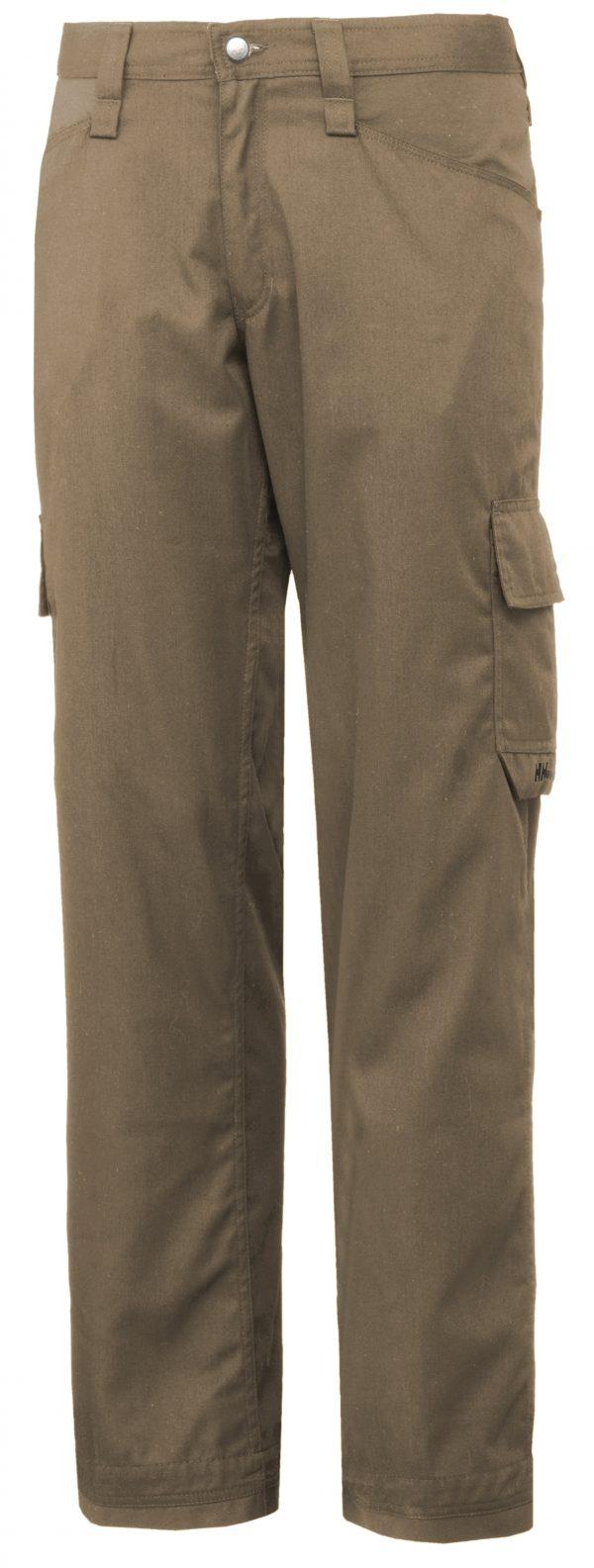 76591 Helly Hansen Workwear Men's Durham Service Pant, Khaki, Front