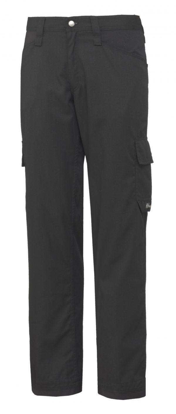 76591 Helly Hansen Workwear Men's Durham Service Pant, Black, Front
