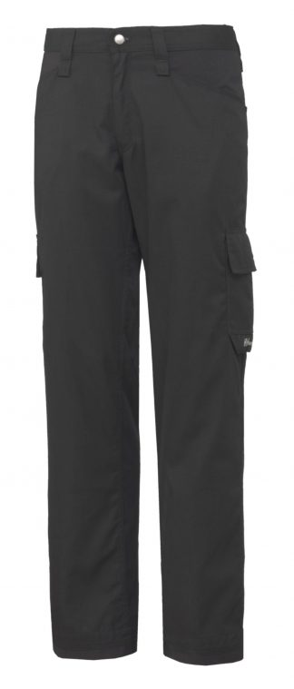76591 Helly Hansen Workwear Men's Durham Service Pant, Black, Front