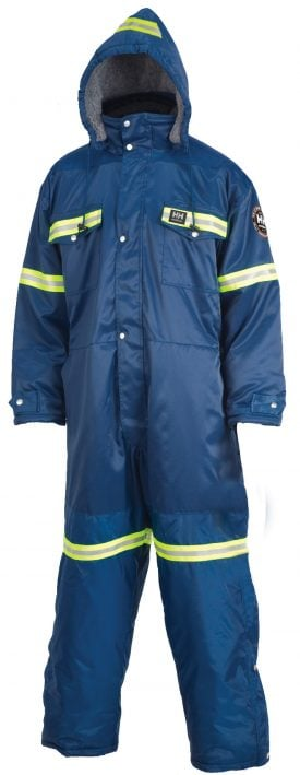 76612 Helly Hansen Workwear Men's Thompson Insulated Snow Suit w/ 3M™ Scotchlite™ Reflective Material front