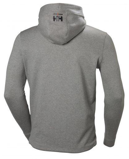 Helly Hansen Workwear 79197 Men's Chelsea Evolution Hoodie, Gray, Back