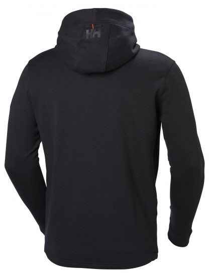 Helly Hansen Workwear 79197 Men's Chelsea Evolution Hoodie, Black, Back