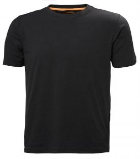 79198 Helly Hansen Workwear Men's Chelsea Evolution T-shirt, Front Black