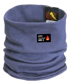 79893 Helly Hansen Workwear Fargo Flame Retardant Neck Gaiter w/ Lifa® Moisture Wicking Technology, Navy Blue