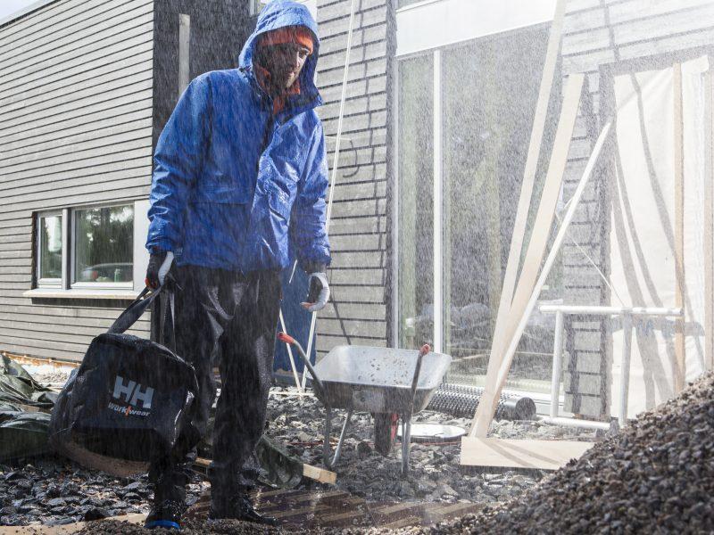 Rainwear, rain protection in forms of coats, pants, jackets, shoes