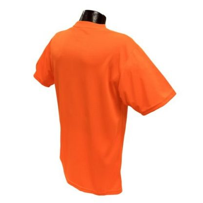 Radians ST11-N Non-rated High-visibility Safety Shirt, Orange Back