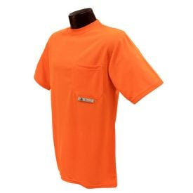 Radians ST11-N Non-rated High-visibility Safety Shirt, Orange Front