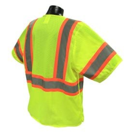 Radians SV24-3 Class 3 Breakaway Safety Vest Back