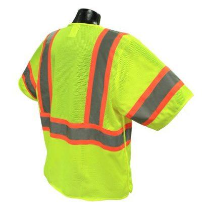 Radians SV24-3 Class 3 Breakaway Safety Vest Back