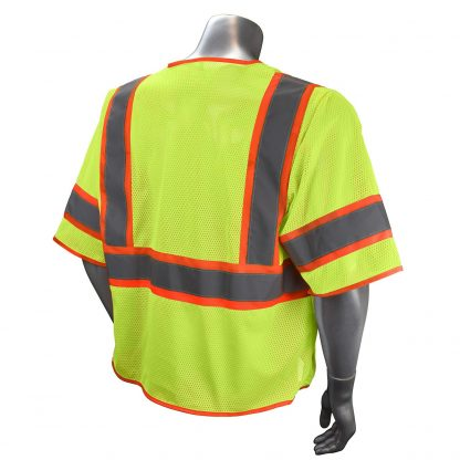 Radians SV272 Class 3 Multi-purpose Surveyor Vest Green Back