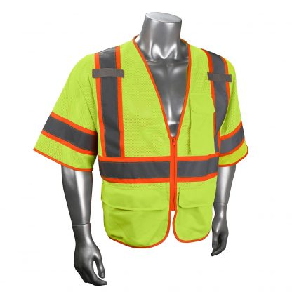 Radians SV272 Class 3 Multi-purpose Surveyor Vest Green Front