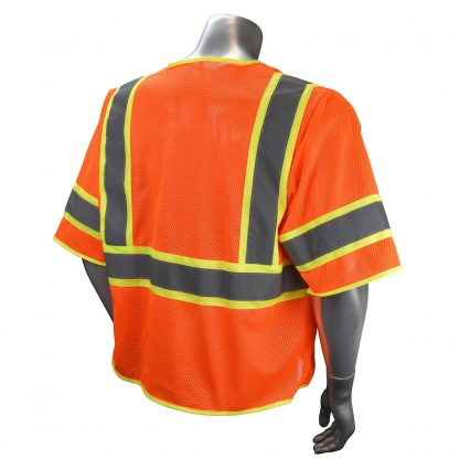 Radians SV272 Class 3 Multi-purpose Surveyor Vest Orange Back