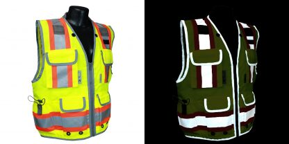 Radians SV55 Heavy-woven Two-tone Engineer Safety Vest Day or not