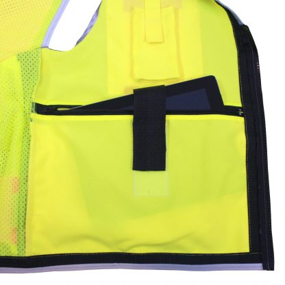 Radians SV55 Heavy-woven Two-tone Engineer Safety Vest Ipad Pocket