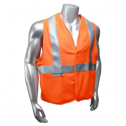 Radians sv92j Class 2 Fire resistant Safety Vest, High Visibility Orange Front