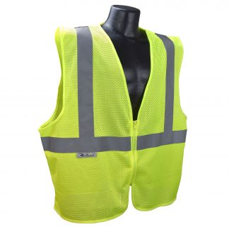 Radians SVE1-2ZGM Class 2 Safety Vest Orange, Front