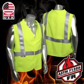 Radians sv92j Class 2 Fire resistant Safety Vest
