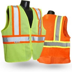 Radians SV22 Class 2 High Visibility Safety Vest with two-tone trim