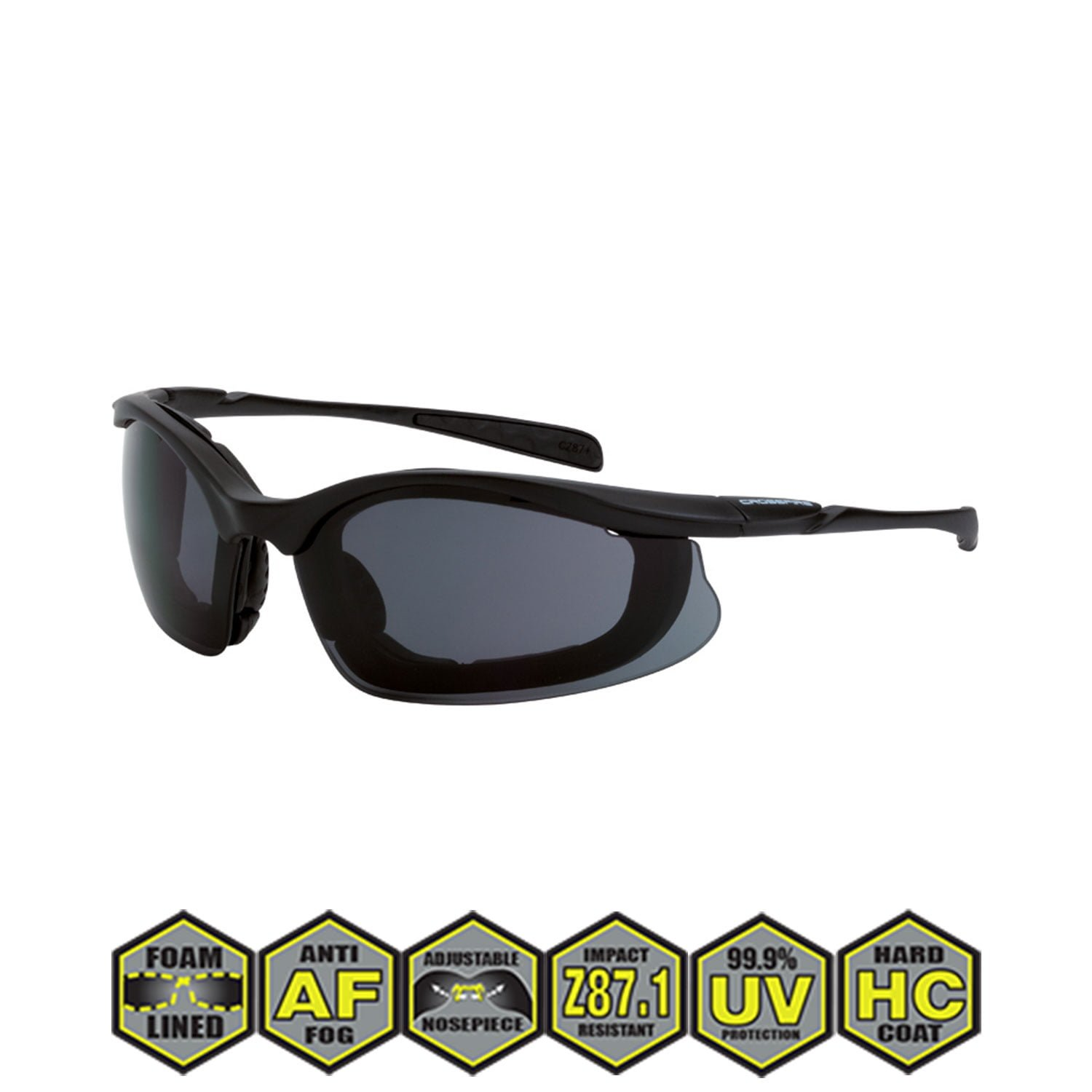 adec0dee91b Radians Crossfire Concept Safety Glasses