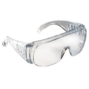 Radians Chief™ Safety Eyewear, Over The Glasses, OTG, 360-c Clear
