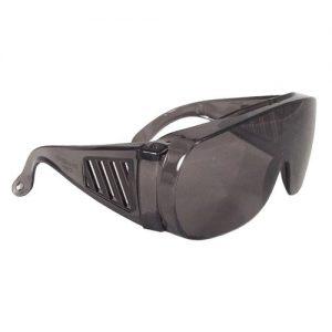 Radians Chief™ Safety Eyewear, Over The Glasses, OTG, 360-s Smoke